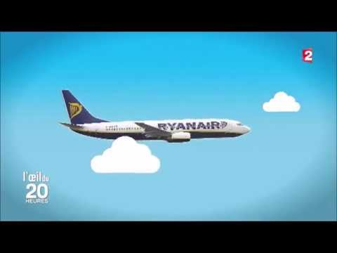 PAY TO FLY - Ryanair - 20h de France 2 (JT du 28/10/2015) [ENG & NL subs]