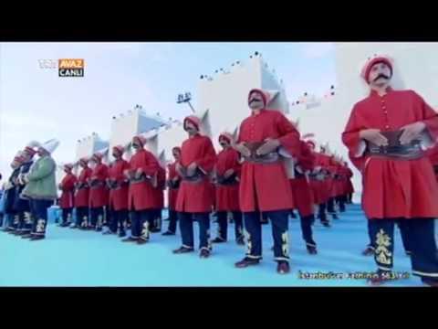 Plevne Marşı - Fethin 563. Yılında 563 Kişilik Mehteran Ekibinden - TRT Avaz