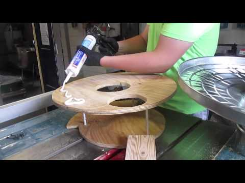Modifying a Harbor Freight 2HP Dust Collector ~ Making a Thein Baffle