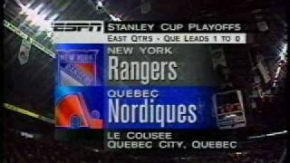 National Hockey Night open ESPN 1995