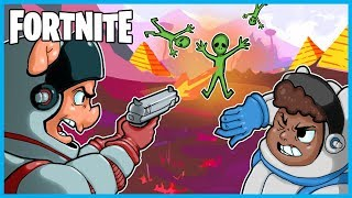 WE FOUND ALIENS in Fortnite: Battle Royale! (Fortnite Funny Moments & Fails)