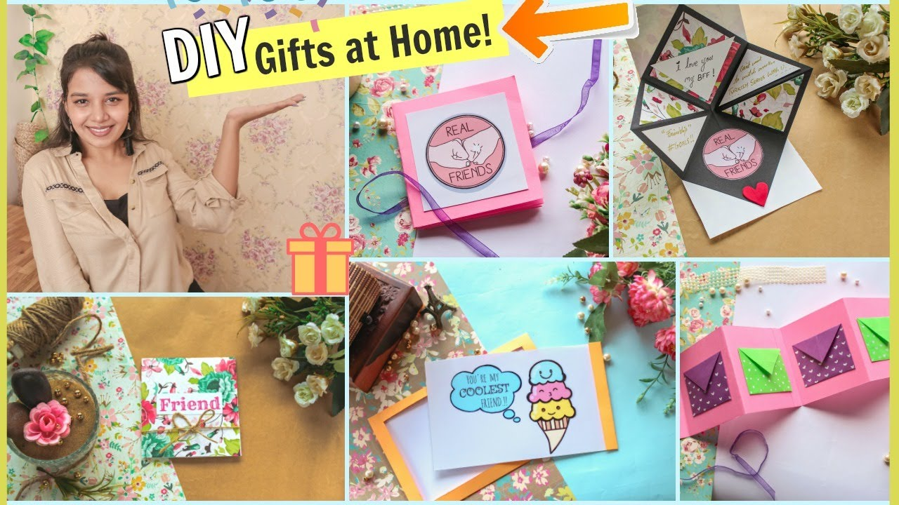 Diy Last Minute Gift Ideas To Do In Lockdown 15 Diy Gift Ideas At Home For Everyone Youtube