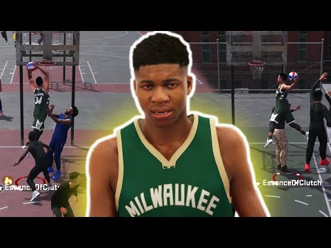 GIANNIS ANTETOKOUNMPO CRAZY CONTACT DUNKS! SLASHER MIXTAPE NBA 2K18