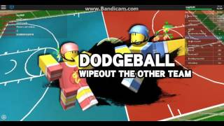 Luigi45260 plays roblox - ROBLOX DODGEBALL