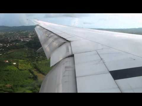 Hard Landing in Martinique runway 28