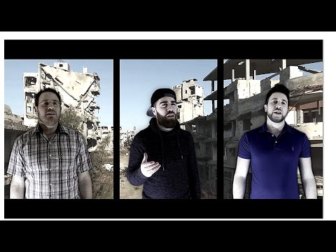 Ghorabaa (strangers)  - Moujaber Music Family -حلب)  نشيد غرباء aleppo)