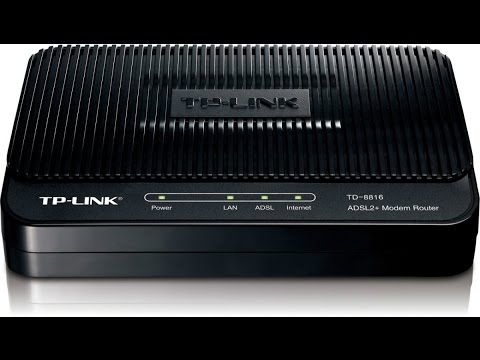 TP-Link TD-8816 v2 Router Windows Vista 64-BIT
