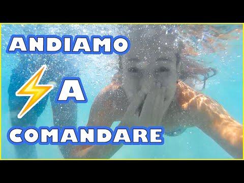 ANDIAMO A COMANDARE SOTT'ACQUA !! Nadia Tempest ⚡️ Travel Vlog 👙