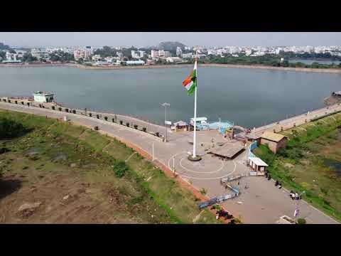 Lakaram Tank bund Aerial View I Dji Mavic Mini Your Travel Videos