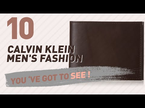 Calvin Klein Handbags For Men // New & Popular 2017