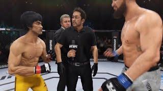 Bruce Lee vs. Travis Browne (EA Sports UFC 3) - CPU vs. CPU