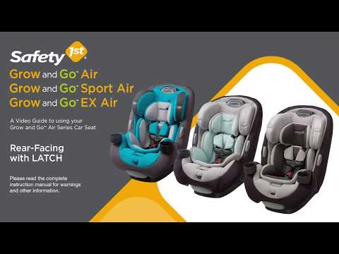 Safety 1st Grow and Go Air™ Series 3-in-1 Convertible Car Seat Rear-facing with LATCH