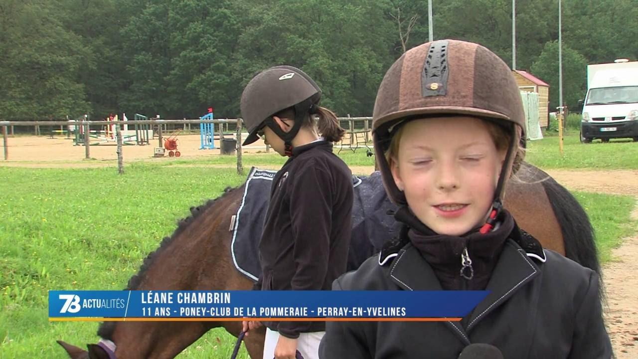 Sports : concours de sauts d'obstacles à Bois d'Arcy