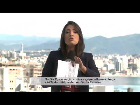 Vacinação contra a gripe chega a 67% do público-alvo em Santa Catarina