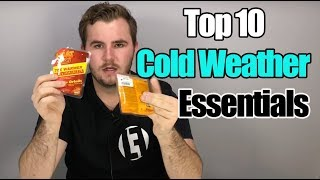 10 COLD WEATHER Essentials