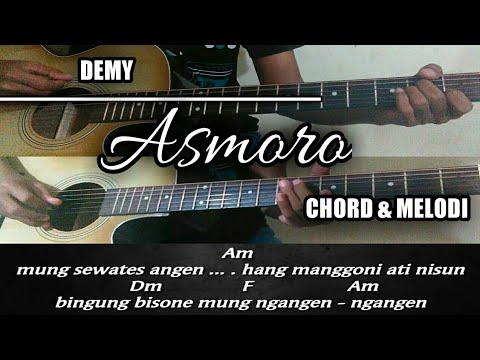 Chord & Melodi gitar   DEMY - ASMORO [acoustik version]
