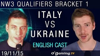 Italy vs Ukraine - NationWars III - Qualifiers Bracket 1 - Match 1 [EN]