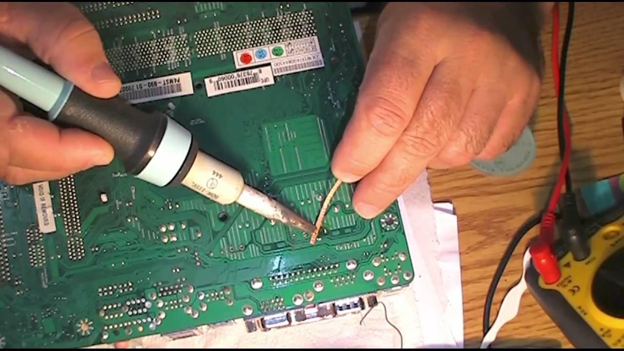 Desoldar capacitores de placa madre y o xbox replacing - Reparacion de placas electronicas ...