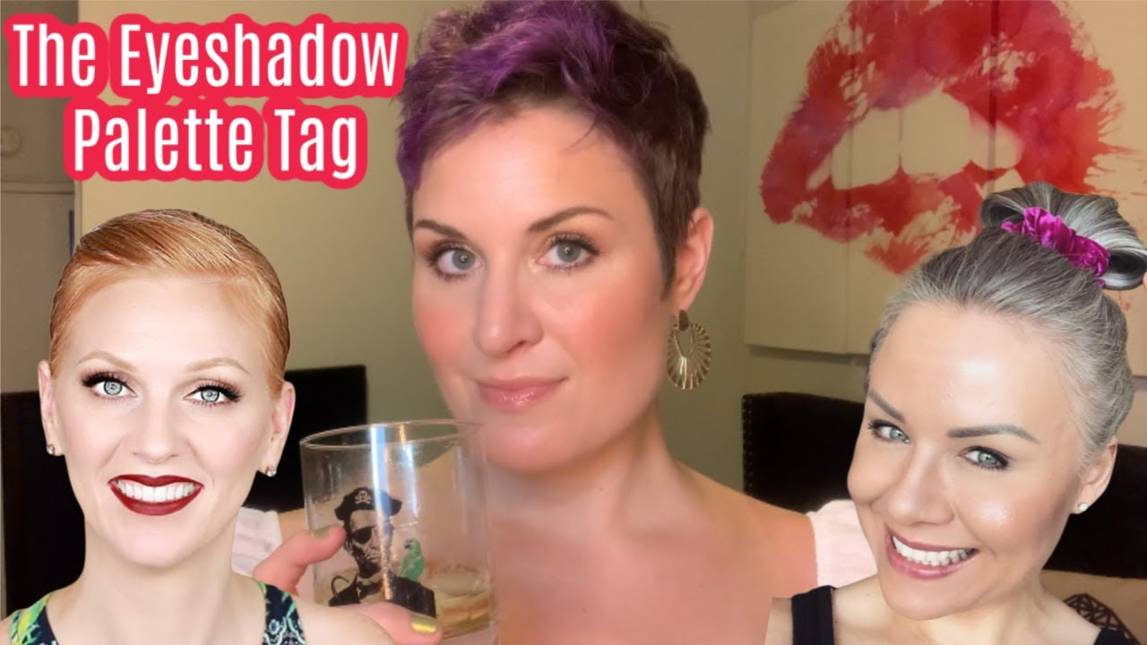 The Eyeshadow Palette Tag | With Better Off Red & MrKongsMom | w/ Skrewball Peanut Butter Whiskey