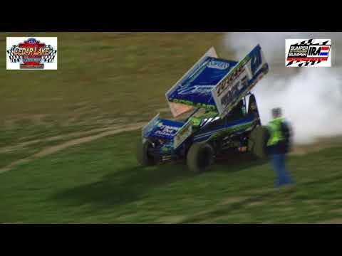 9-9-0217 IRA sprint highlights Cedar Lake Speedway