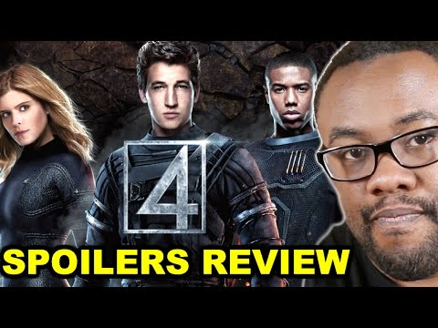 FANTASTIC FOUR 2015 Movie Spoilers Review : Black Nerd