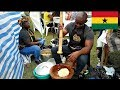 Street food from Ghana - Ghana food tour - Ghana party in the park 2019