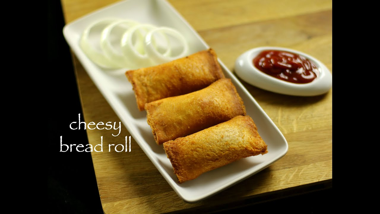 Cheesy bread roll recipe veg stuffed bread roll recipe youtube forumfinder Image collections