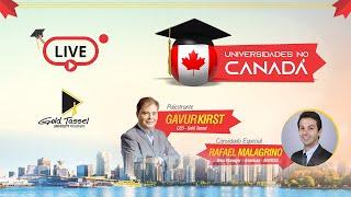 #LIVE - UNIVERSIDADES NO CANADÁ