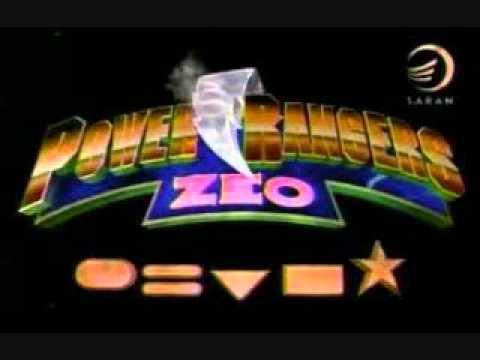 Power Rangers Zeo Theme Song Youtube