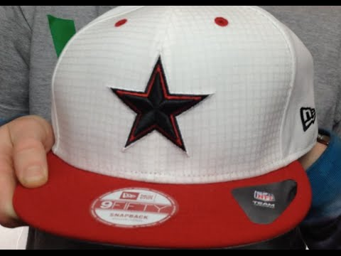 5807097f695 Cowboys  FIRE-RED SNAPBACK  White-Red Hat by New Era - YouTube