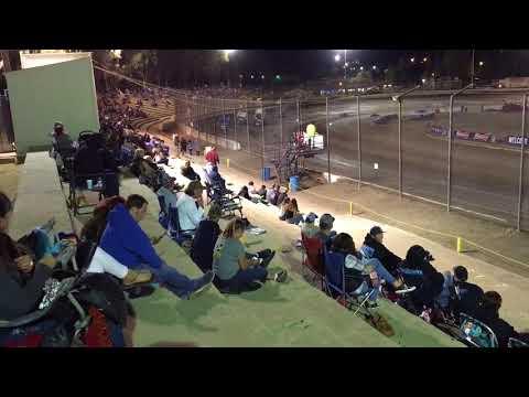 305 Sprint Car Heat Race Bakersfield Speedway 9-23-17 Grant Duinkerken 1st Place