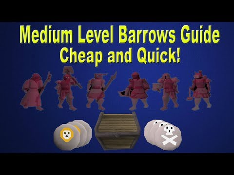 OSRS - Medium Level Barrows Guide!