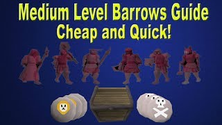 OSRS - Medium Level Barrows Guide!