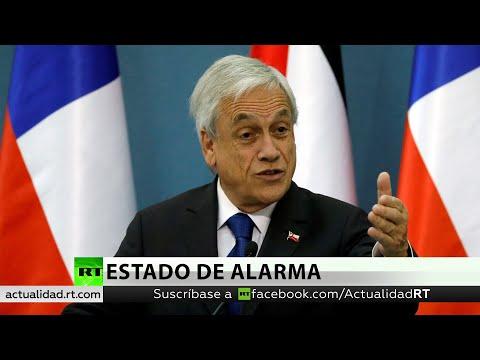 RT en Español: Piñera presenta al Congreso un proyecto de ley para suspender el incremento de las tarifas del metro