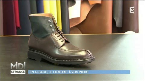 22028f688003 Les chaussures Heschung   le luxe alsacien - YouTube