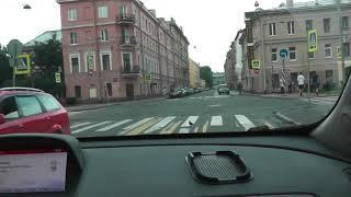 Уроки автовождения в центре города.