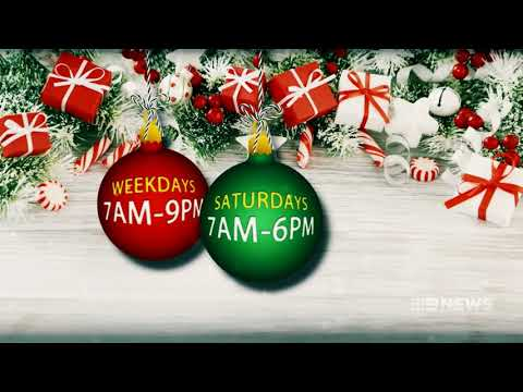 Christmas Trading Hours | 9 News Perth