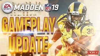 Madden NFL 19 Gameplay Tuning Update