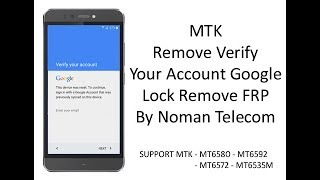 MTK Phones Google Account Bypass Video in MP4,HD MP4,FULL HD