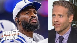 The Colts are buying time with Jacoby Brissett – Max Kellerman | First Take