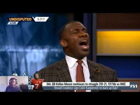 Should The Dallas Cowboys Sign Colin Kaepernick As A Backup QB? |Undisputed| (Video Reaction)