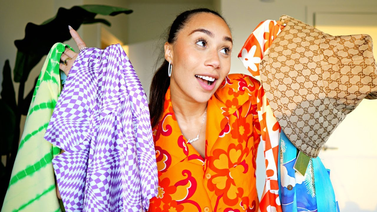 HUGE SUMMER 2021 HAUL (THRIFTING, STORES anddd LUXURY)   MyLifeAsEva
