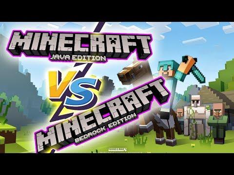 Comparativa Minecraft Java Edition Vs Windows 10 Edition Bedrock Youtube