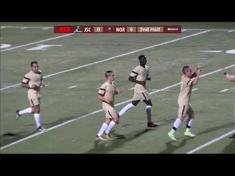 Johnson State at Norwich University Men's Soccer Highlights