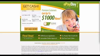 Learn how to use  www.ePayday.com website in simple steps.