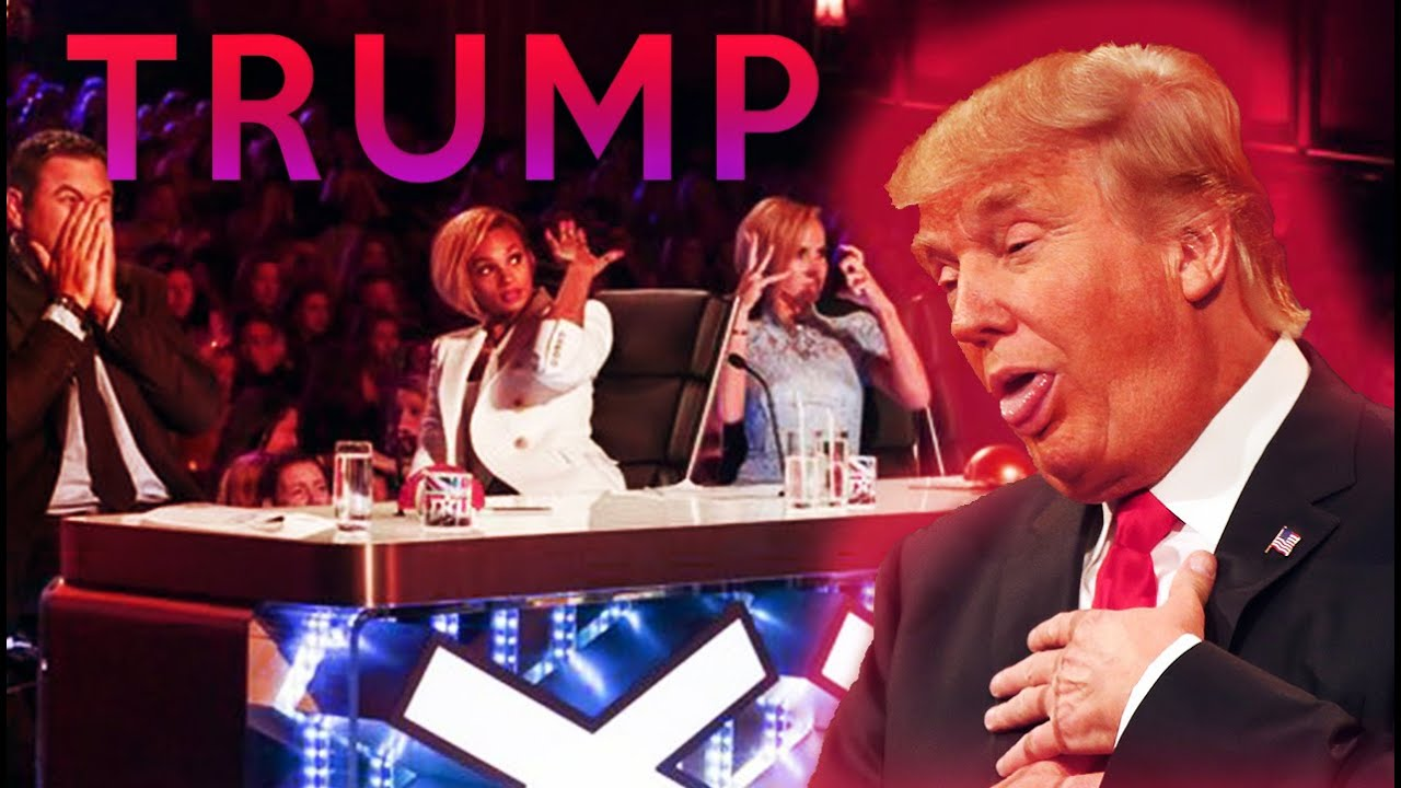 Americas got talent 2017 impersonations - Donald Trump On America S Got Talent