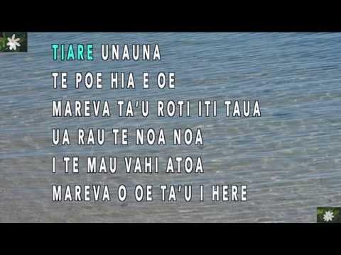 Mareva - Karaoke version by Manuia-Geek