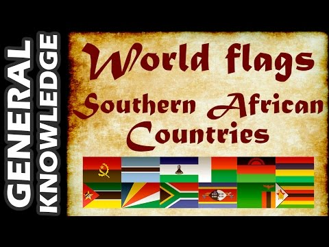 World Flags - Southern African Countries