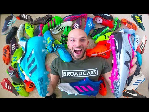 MY $10,000 FOOTBALL BOOT COLLECTION!
