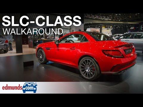 2017 Mercedes-Benz SLC-Class Walkaround Review | Detroit Auto Show
